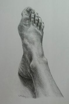 I'm well jealous of this foot drawing. mine sucks in comparison!