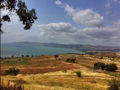 ... the  beautiful Sea of Galilee!