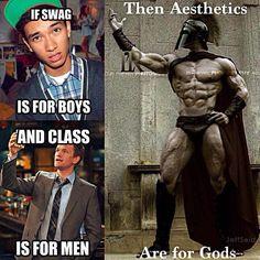 Aesthetics are for gods