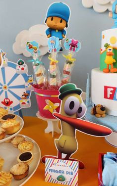 Pocoyo Birthday Party Ideas | Photo 10 of 15 2nd Birthday, Birthday Parties, Bday Girl, Party Time, Mickey Mouse, Birthdays, Crafts, Party Ideas, Facebook