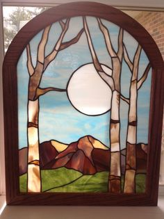 stained glass landscapes - Google Search                                                                                                                                                                                 More