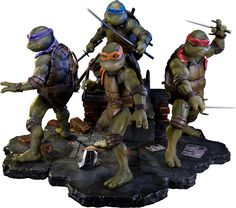 Teenage Mutant Ninja Turtles Polystone Statue