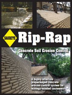 Rip rap sakrete concrete designs pinterest retaining walls really hard to find where to buy on the google i only uncovered solutioingenieria Images