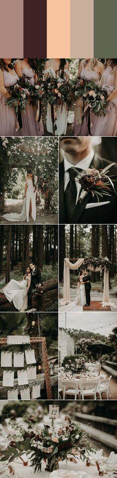 If pastels and neutrals catch your eye more than bold color combos, these muted wedding color palettes are perfect for you. Each of these palettes is timel