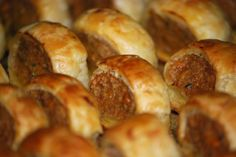 Back to School lunchbox idea--homemade sausage rolls