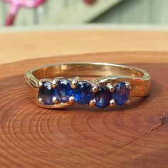 An 14K yellow gold ring with 1/2 Carat of by Timehonouredtreasure