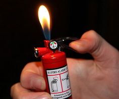 Mini Fire Extinguisher Lighter #minifireextinguisherlighter #minilighter #fireextinguisher #cool #gifts