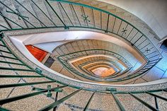 Stairs view by Rui M Leal, via Flickr