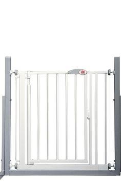 Installée en haut ou en bas d'un escalier, cette barrière protège votre bout'chou... #barriereporte #barrièreredcastle #sécurité