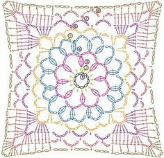 Patrones de Mandalas en Crochet (Free crochet patterns mandalas) - Crochetisimo