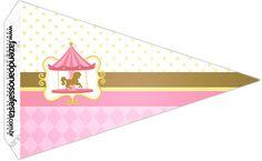 Bandeirinha Sanduiche 2 Carrossel Encantado