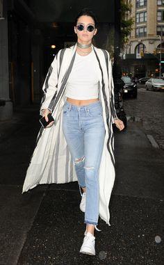 Kendall Jenner rocks