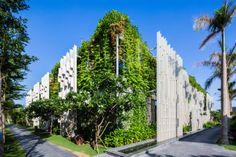 design resort green walls
