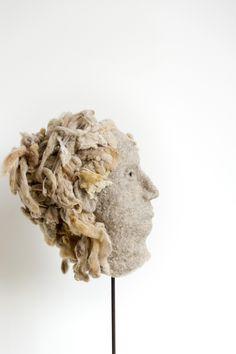 felted head, 2014 marijke eken