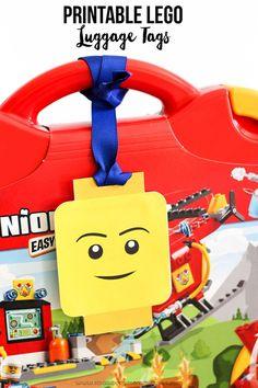 Printable LEGO Luggage Gift Tags - Strawberry Mommycakes
