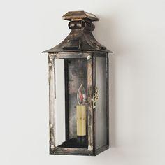 Small Federal Outdoor Light - 1 Light - Shades of Light