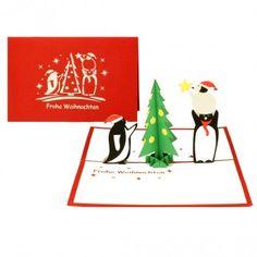 GEWINNSPIEL ZUM NIKOLAUSTAG  Bei der Nikolausverlosung von Mea (https://measblog.com/) gibt es heute ein bunt gemixtes Paket mit allerlei schönen Kleinigkeiten zu gewinnen. Unter anderem ist unsere weihnachtliche Pinguin-Karte mit dabei. Schaut doch noch schnell bei Mea vorbei und gewinnt mit etwas Glück diese tolle Nikolausüberraschung. :-)  #adventsverlostung #colognecards #popupkarten #klappkarten #nikolausverlosung #measblog #gewinnspiel #weihnachtskarte #pinguinkarte