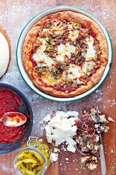 American Hot Pizza Pie | sixx.de