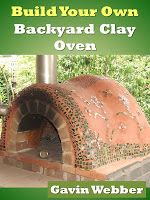 Amazing! This Youtube Video shows how easy it is to make a backyard wood-fire oven & the base from basic materials like clay, bricks, cinder blocks, ... This beautiful oven is suitable for pizza, bread, and vegetables, ... The book priced $4.99 at Kindle is told to illustrate more detailed instructions and measurements.