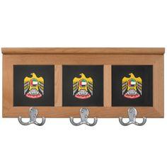 Emirati coat of arms coat racks