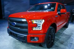 2015 Ford F-150 looking great in red!