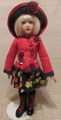 "BEAUTIFUL HELEN KISH DOLL ""SHEA"" 14"" #Kish #DollswithClothingAccessories"