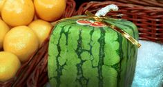 Square watermelon-what a package
