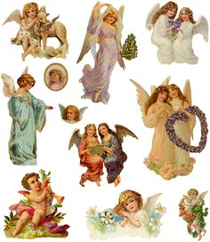 Vintage Angel Clip Art Free | The assistance of which I badly need since I still can't get the ...