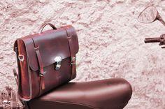 Leather Men Bag Ludena - Mens business bag