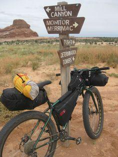 Surly Krampus bikepacking.