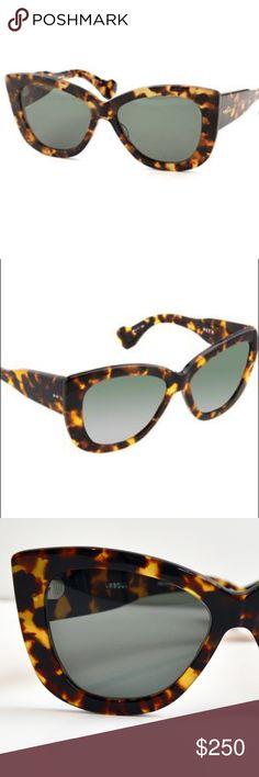 Dita Vesoul Sunglasses Tortoise. Very good condition. As seen in Giuliana Rancic! DITA Accessories Sunglasses