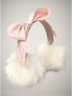 Lovely Ear Muffs But here in California we don't need them.