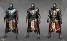 ArtStation - Iron Blade - Weapons and Armors , Gabriel Tanko