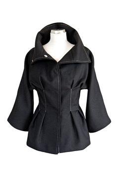 Vicky kurtka czarna (sprzedawca: kasia zapała), do kupienia w DecoBazaar.com
