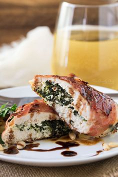 <a href='http://www.thechunkychef.com/florentine-stuffed-chicken/' target='_blank'>Florentine Stuffed Chicken</a> by The Chunky Chef