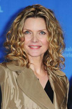 Michelle Pfeiffer Medium Curls - Michelle Pfeiffer Hair - StyleBistro