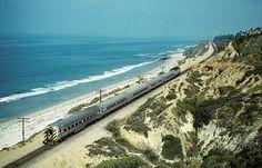 Amtrack Train... Oceanside, California...