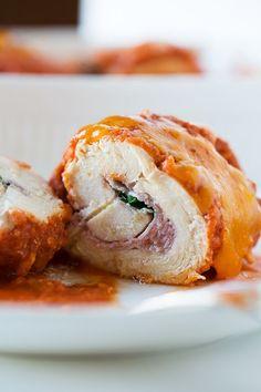 Chicken Roll-Ups | tablefortwoblog.com