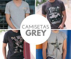 Camisetas total #grey #man #massana #hombre #Tshirt #Massanaoutwear #camiseta #Summer #spring