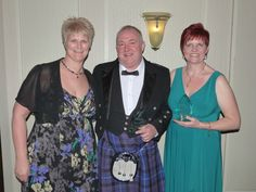 Two of the regional winners and national finalists - Martin and Helga share the same Regional Manager, Sylvia Parker (left).