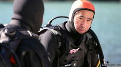 Yasuo Takamatsu listens to his diving instructor ▼11Mar2014 BBC|Japan: Tsunami widower searches seabed for missing wife http://www.bbc.com/news/blogs-news-from-elsewhere-26169827 #YasuoTakamatsu #japan #tohoku2011 #311