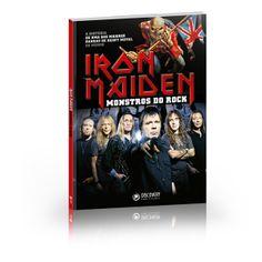 """Em Iron Maiden – Monstros do Rock está a detalhada história da Donzela de Ferro, as dificuldades, as vitórias e as transformações, até chegar à formação atual, um sexteto com três guitarristas, com os melhores músicos que já passaram pelo grupo, e que perdura há mais de 10 anos. Completam o volume, a história e a glória de Eddie, o """"boneco-monstro"""" que assombra os shows e todos os produtos ligados à banda, além de uma discografia completa."""