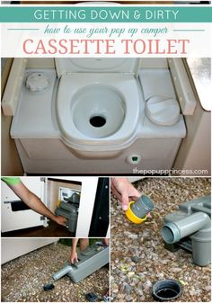 How to Use & Maintain Your Pop Up Camper Toilet