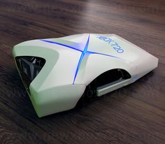 Xbox 720 Console Concept Design by David Hansson - Laying Down