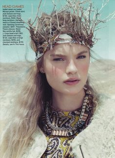 Crown idea  Teen Vogue / Ph: Paolo Kudacki