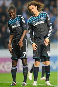 Ramires and David Luiz