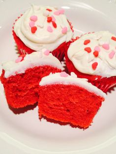 Gluten- Free Red Velvet Cupcakes! Just in Time for Valentines Day!