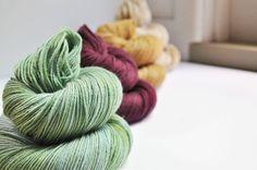Fields Of Wheat - Colour Palette - Merino cashmere Fingering