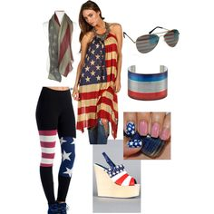 It's Independence Day! Here's an outfit entered to win our patriotic new challenge.