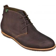 05b5ecb8786cb6 Chaussure El naturalista homme avec lacets. Cuir à tannage végétal, semelle  en caoutchouc naturel